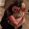 Kyle Richards, Holiday, Christmas, Dog, Surprise