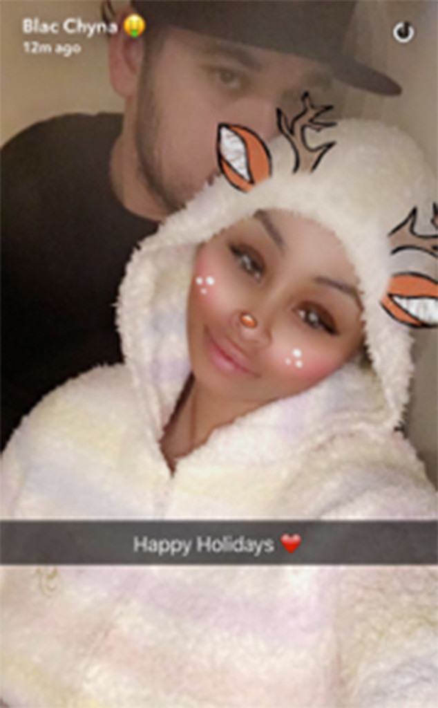 Rob Kardashian, Blac Chyna, Snapchat