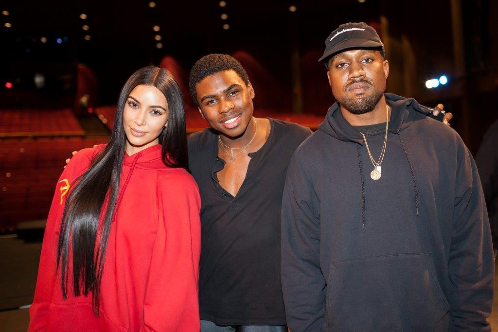 Kim Kardashian, Kanye West, Nutcracker, Dancer Samuel Akins