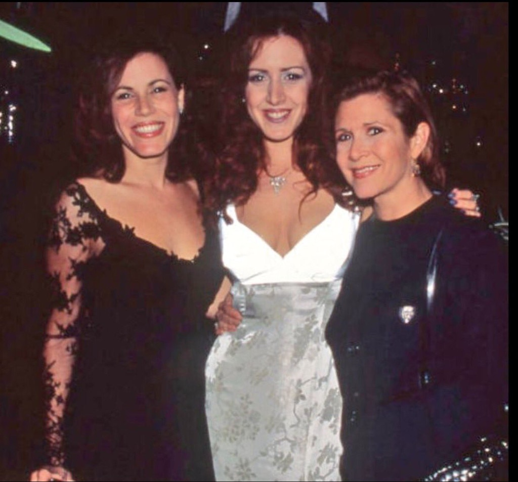 Joely Fisher, Carrie Fisher, Tricia Leigh Fisher