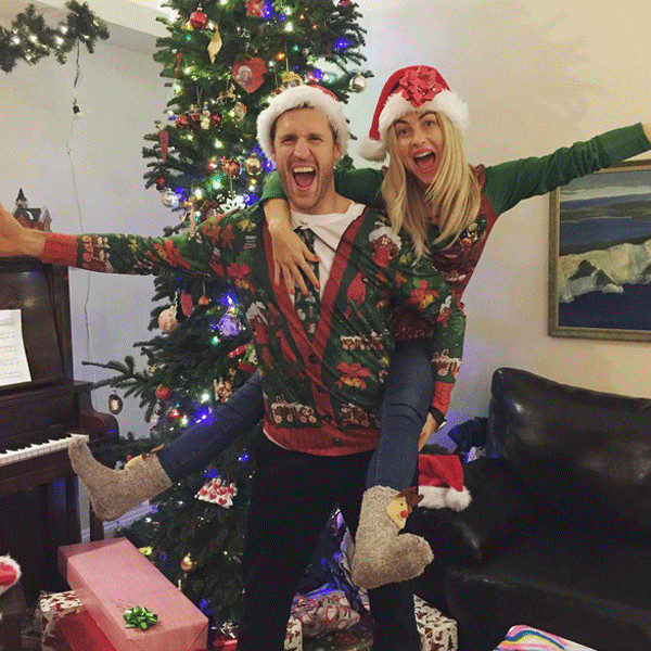 Julianne Hough From Stars In Ugly Holiday Sweaters E News
