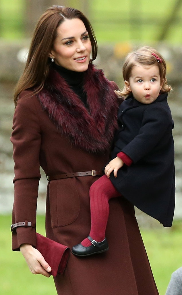 Princess Charlotte, Kate Middleton, Christmas
