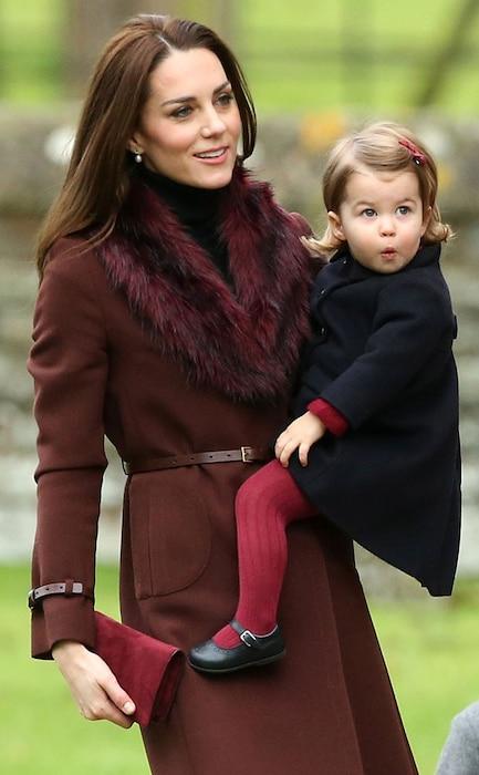 Princess Charlotte, Kate Middleton, Christmas
