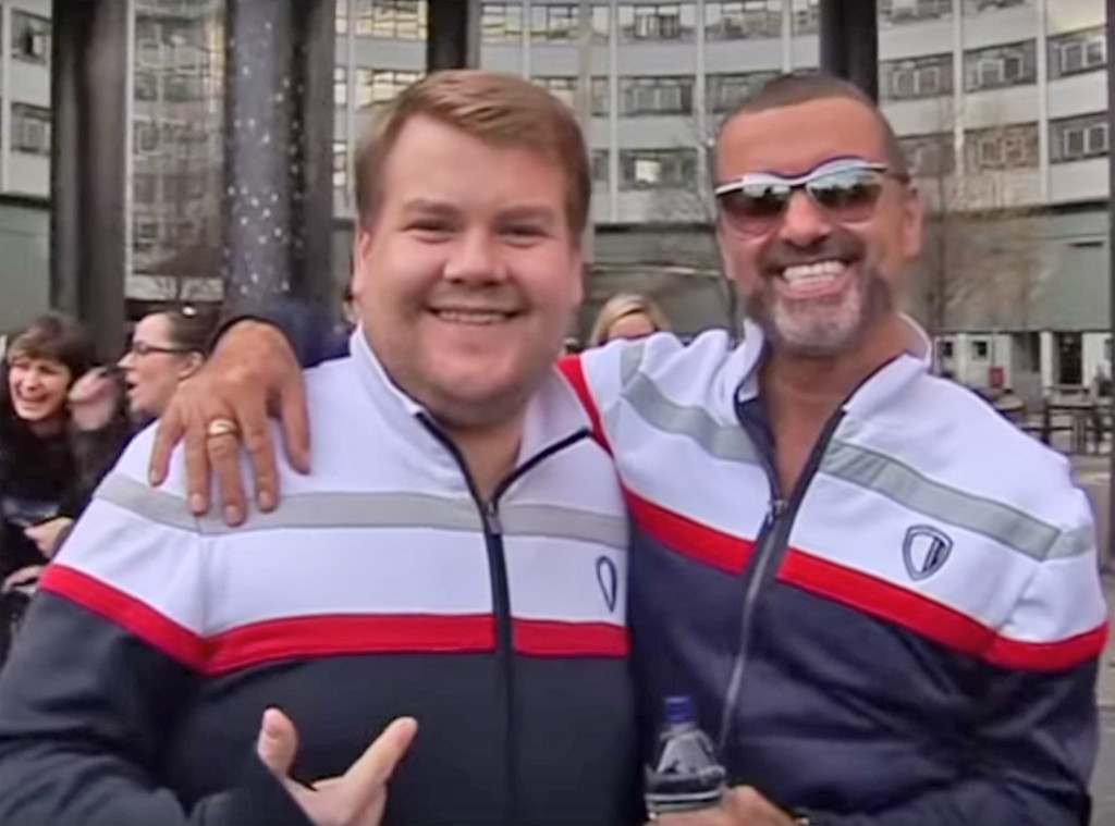 James Corden, George Michael