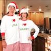 Lisa Rinna, Harry Hamlin, Christmas 2016