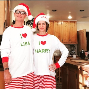 Lisa Rinna, Harry Hamlin, Christmas 2016