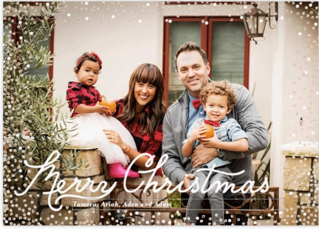 Tamera Mowry-Housley, Christmas 2016