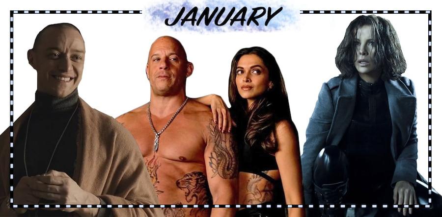 2017 Movie Preview, January