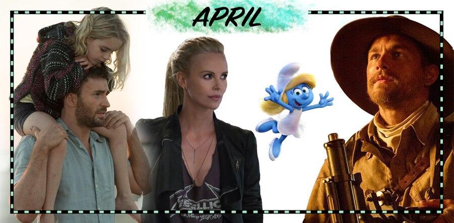 2017 Movie Preview, April