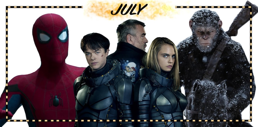 2017 Movie Preview, July