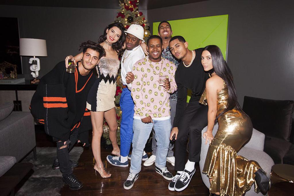 Kardashian Holiday Party, Kendall Jenner, Kim Kardashian