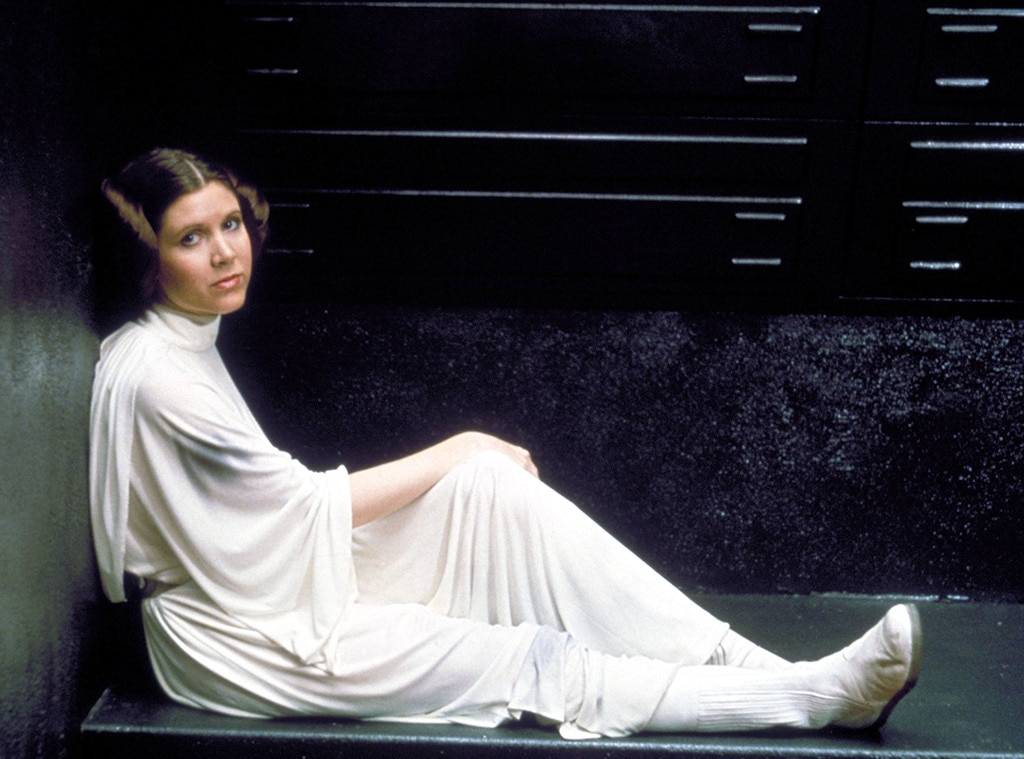 Carrie Fisher, Star Wars Episode IV - A New Hope - 1977