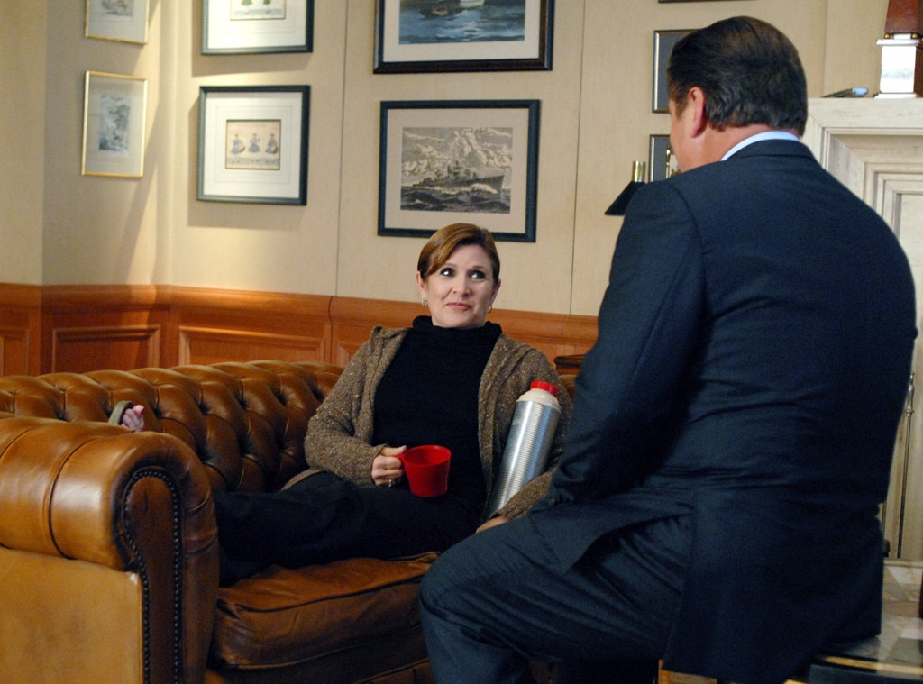 30 Rock, Carrie Fisher