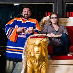 Kevin Smith, Carrie Fisher, Jason Mewes
