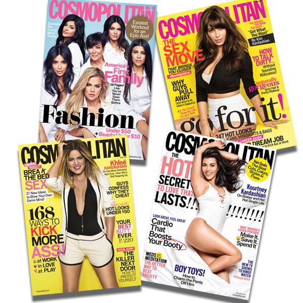 Kardashians, Cosmopolitan