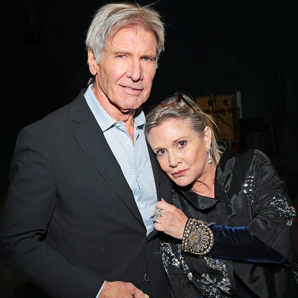 Harrison Ford, Carrie Fisher