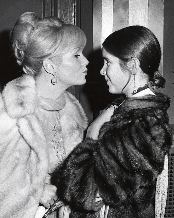 Debbie Reynolds, Carrie Fisher, 1972