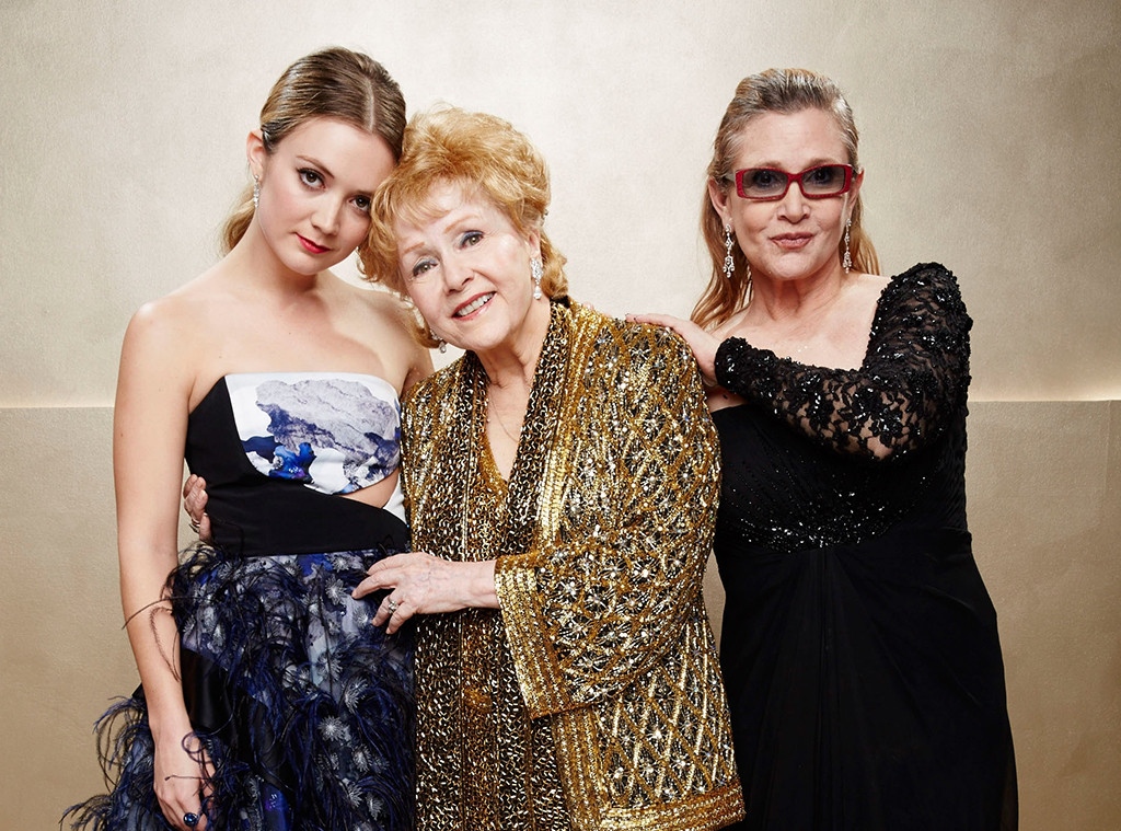 Billie Lourd, Debbie Reynolds, Carrie Fisher