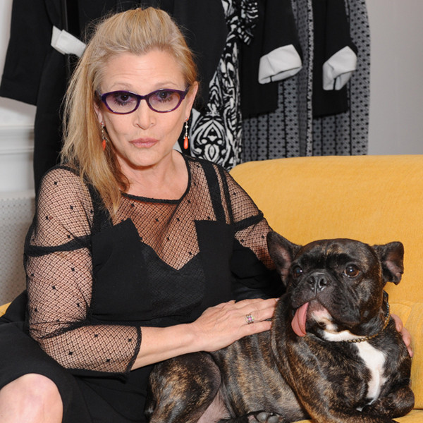 Carrie Fisher, Dog Gary
