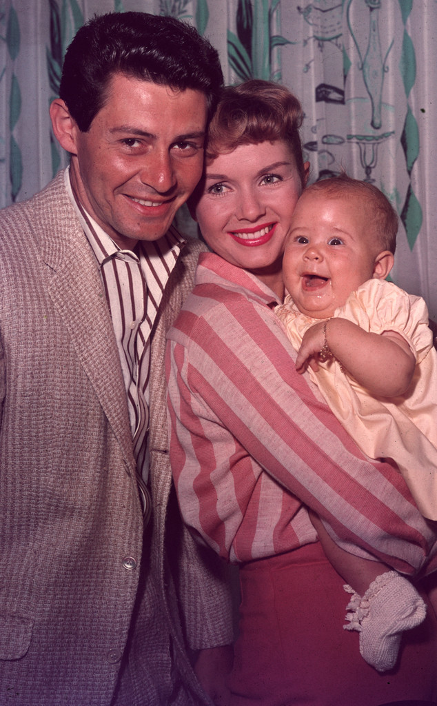 Eddie Fisher, Debbie Reynolds, Carrie Fisher
