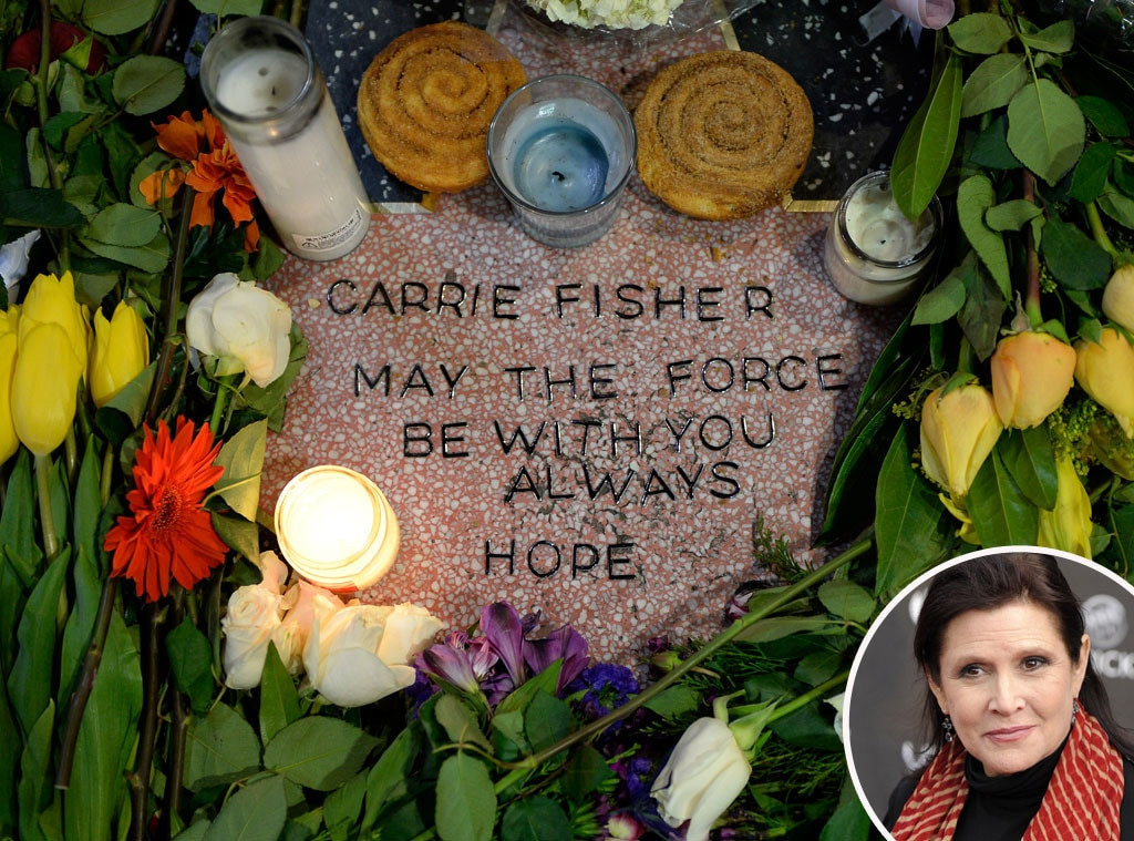 Carrie Fisher, Makeshift Star