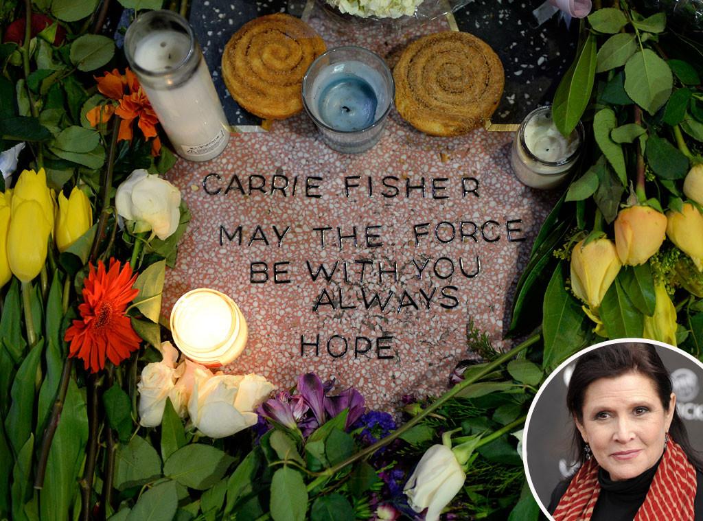 Carrie Fisher, Makeshift Star
