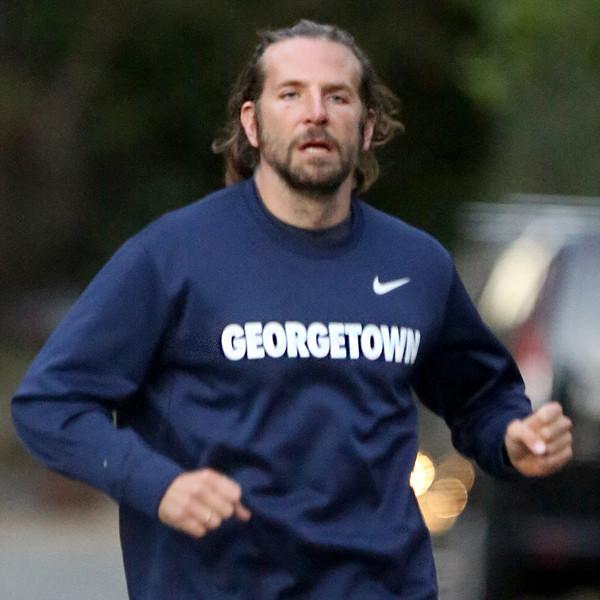 Bradley Cooper Sweats It Out During a Run After Irina Shayk's ...  Bradley Cooper