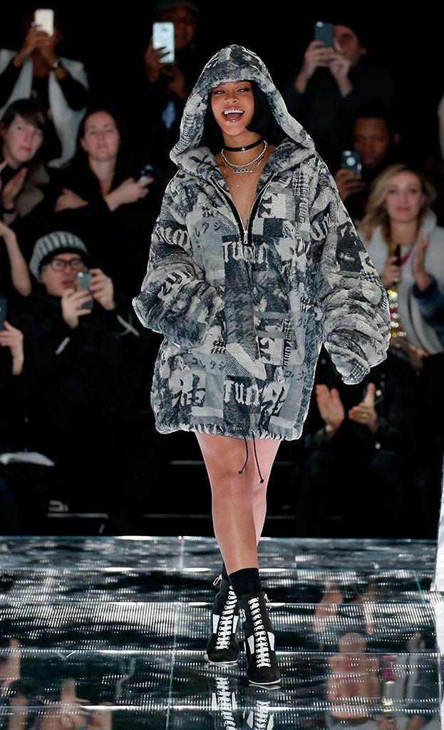 Rihanna, New York Fashion Week Fall 2016
