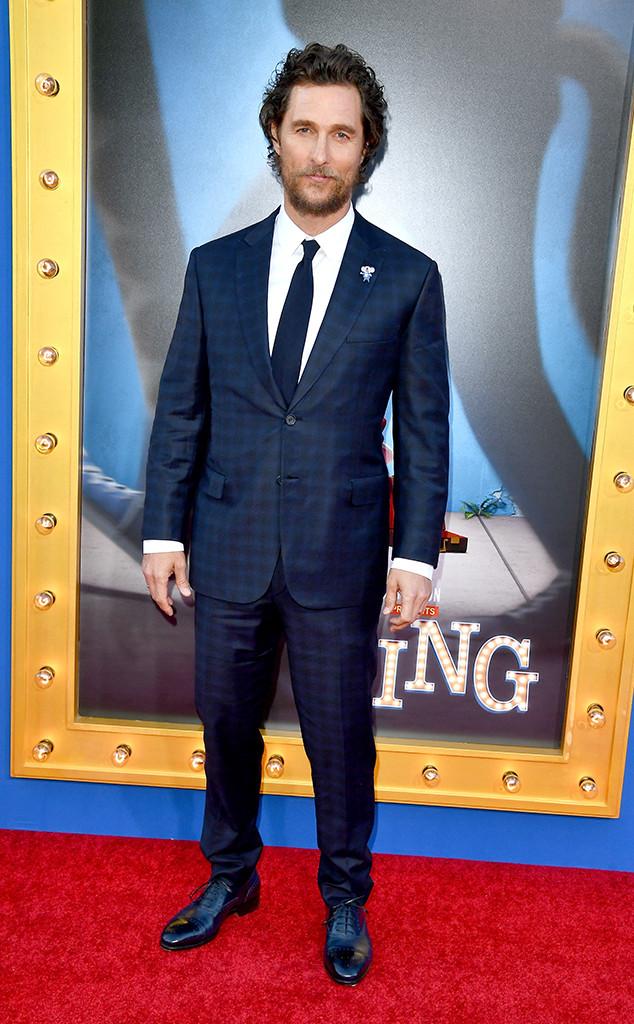 Matthew McConaughey, Sing Premiere