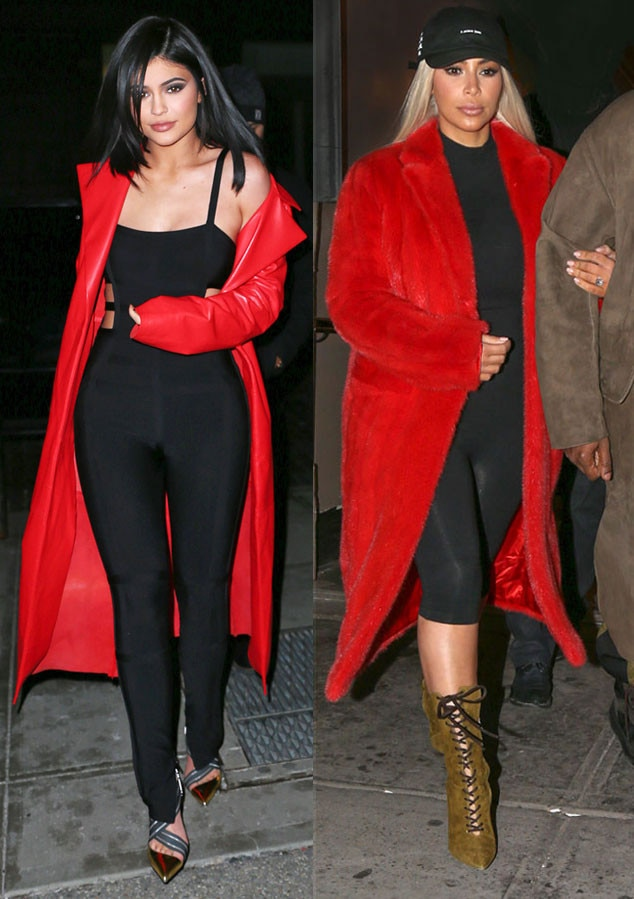 Kim Kardashian & Kylie Jenner Are Almost Twinning Again ...