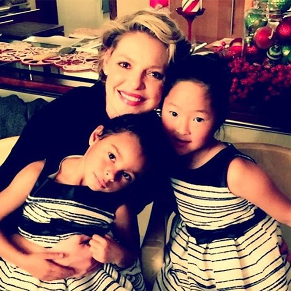 Katherine Heigl, Instagram