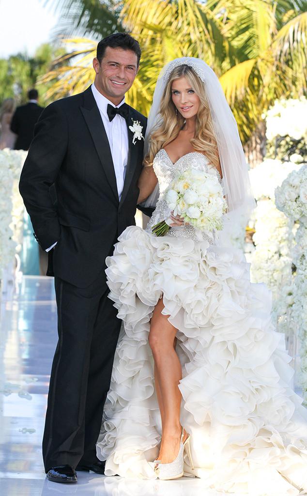 Joanna Krupa and Romain Zago wedding photo