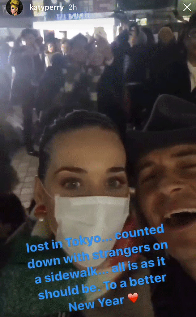 Orlando Bloom, Katy Perry, New Year's Eve 2016
