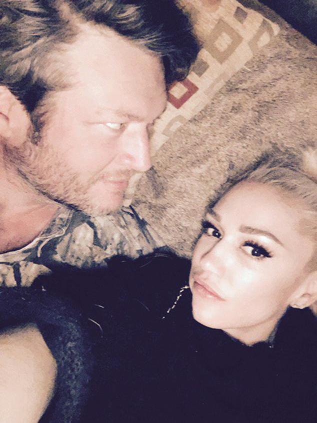Blake Shelton, Gwen Stefani, New Year's Eve 2016