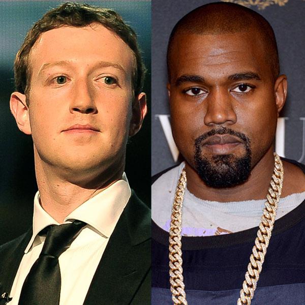 Kanye West, Mark Zuckerberg