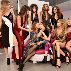 Gigi Hadid, Lily Aldridge, Alanna Arrington, Jourdan Dunn, Irina Shayk, Diane Von Furstenberg, Kendall Jenner, Karlie Kloss, Elsa Hosk