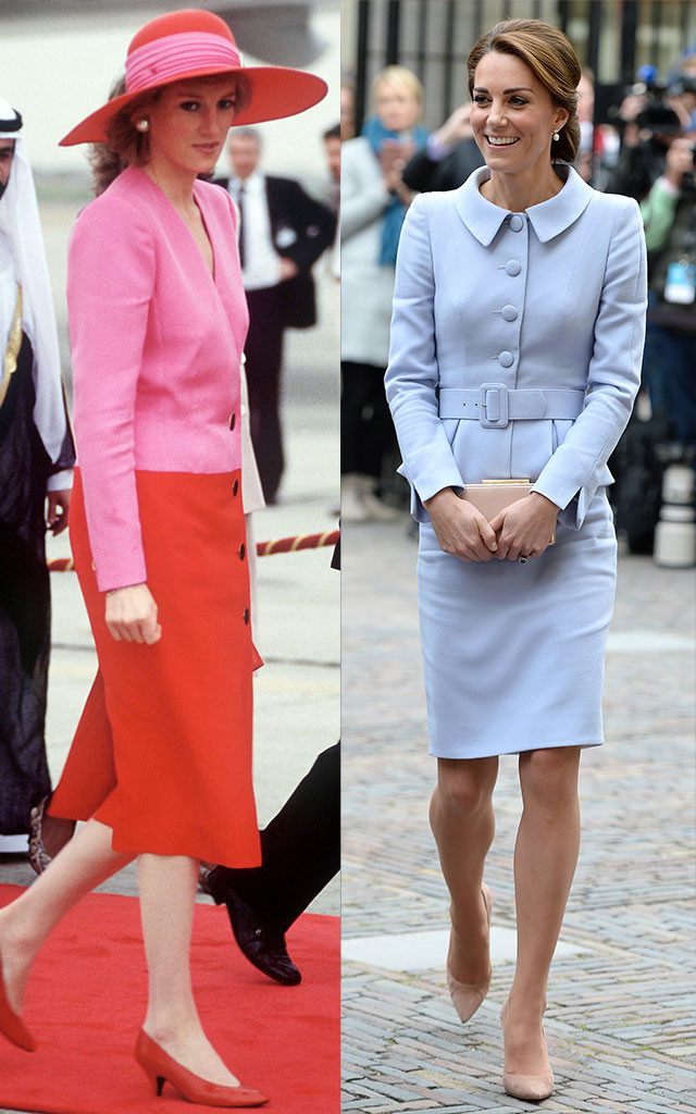8 Undeniable Style Cues Kate Middleton Took From Princess Diana E News
