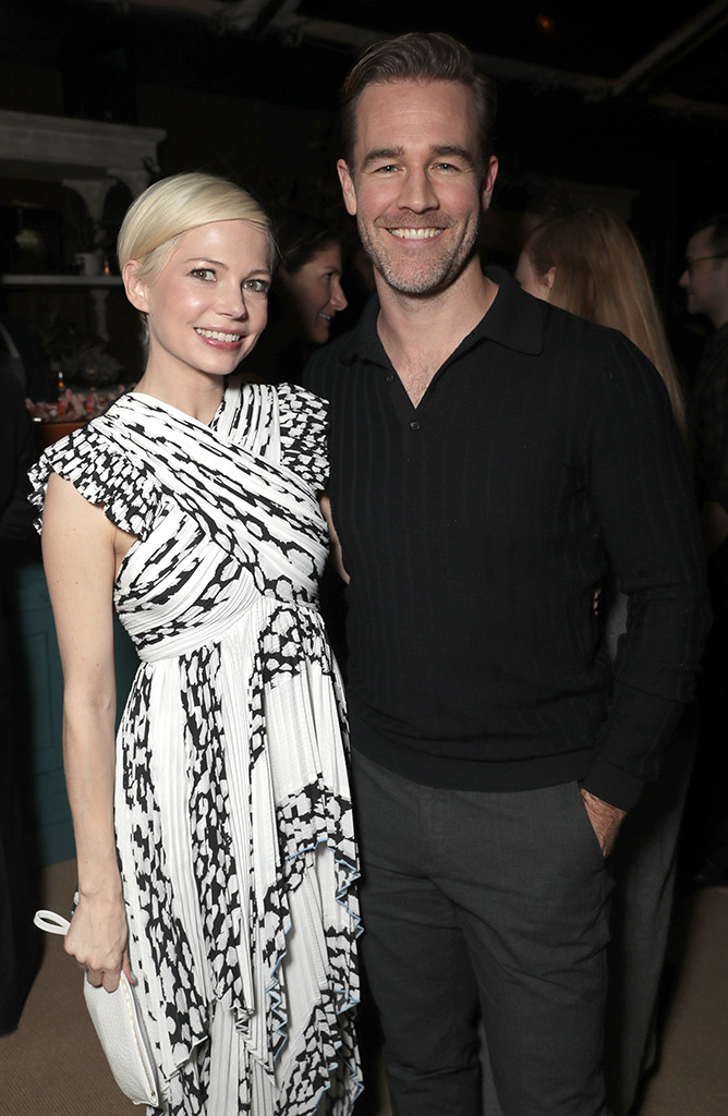 Michelle Williams, James Van Der Beek