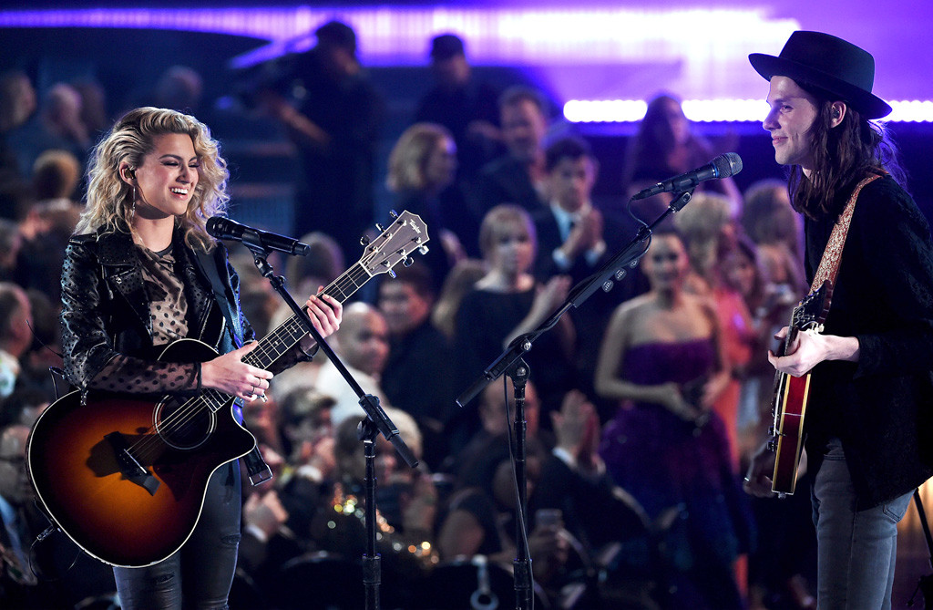 Tori Kelly, James Bay, 2016 Grammy Awards, Show