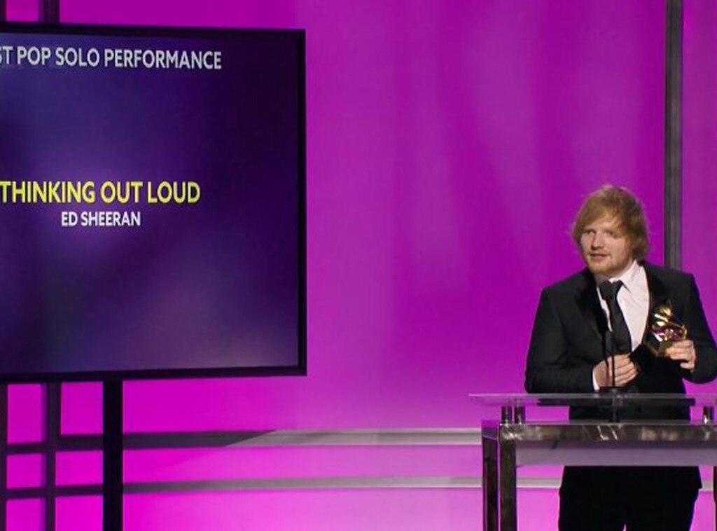 Ed Sheeran, Grammys 2016