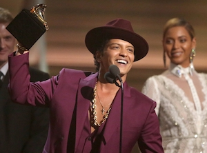 Bruno Mars, 2016 Grammy Awards, Winners