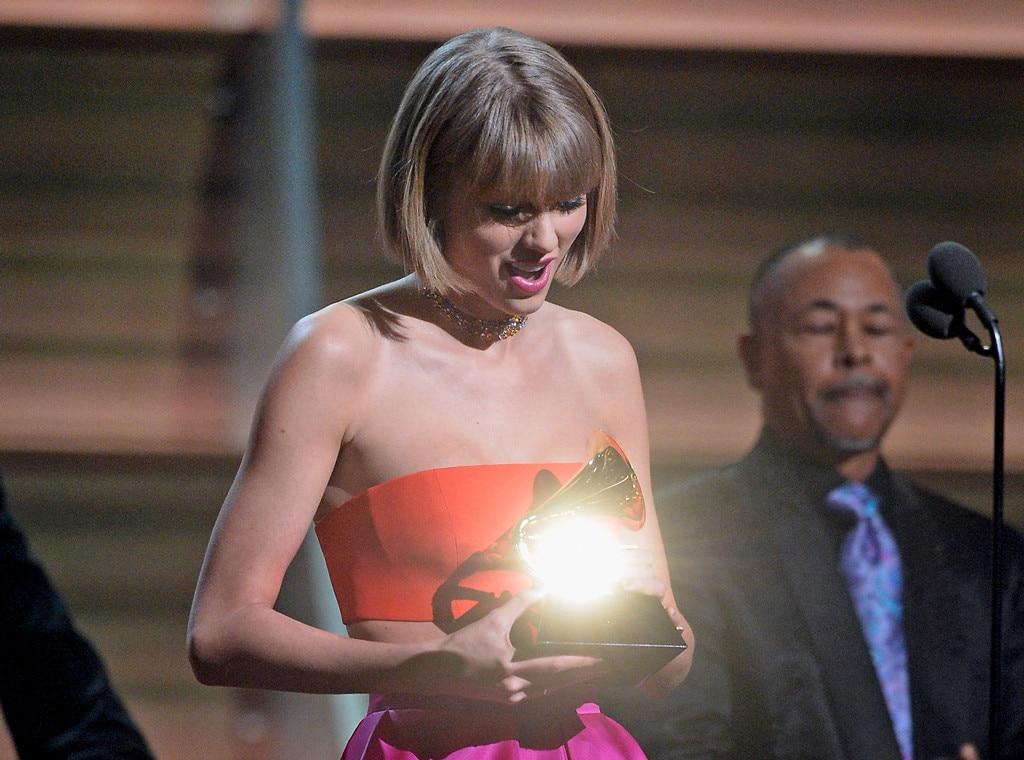 Taylor Swift, 2016 Grammy Awards, Winners, Shocking Grammys Moments