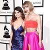 Taylor Swift, Selena Gomez, 2016 Grammy Awards