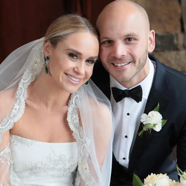 Becca Tobin, Zach Martin, Brides