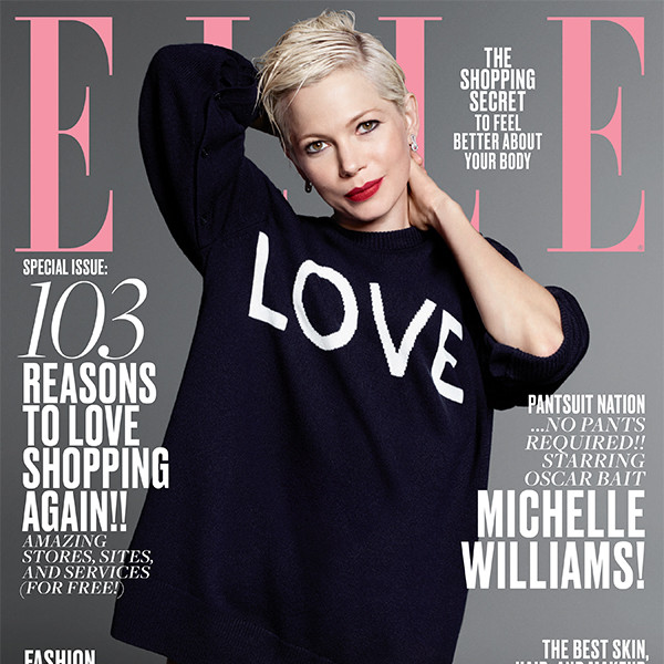 ELLE Magazine, Michelle Williams