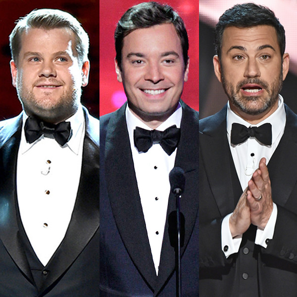 James Corden, Jimmy Fallon, Jimmy Kimmel