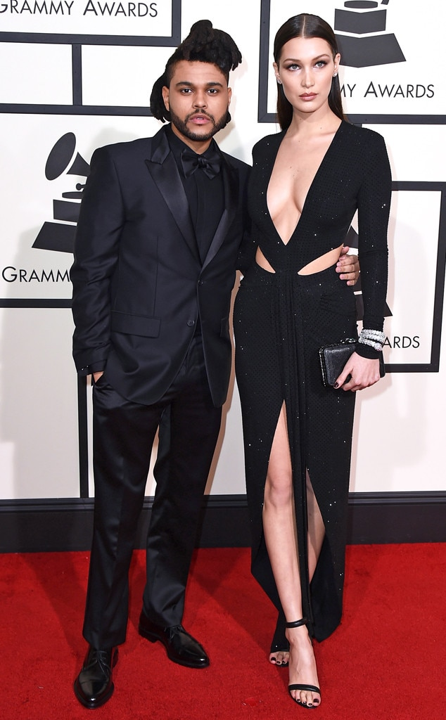 The Weeknd Amp Bella Hadid From Couples At The 2016 Grammys
