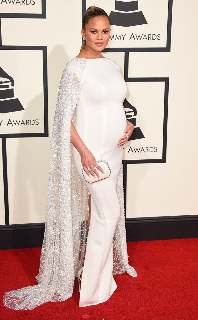 Chrissy Teigen, 2016 Grammy Awards