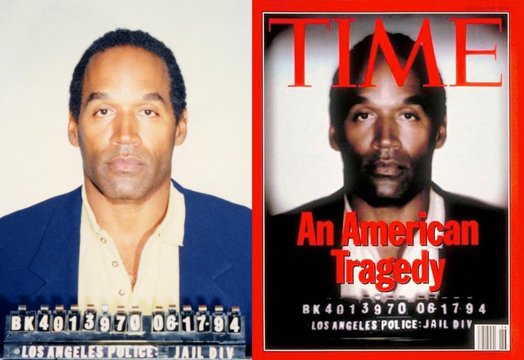 OJ Simpson, O.J. Simpson, Booking Photo, Mug Shot, Time Cover