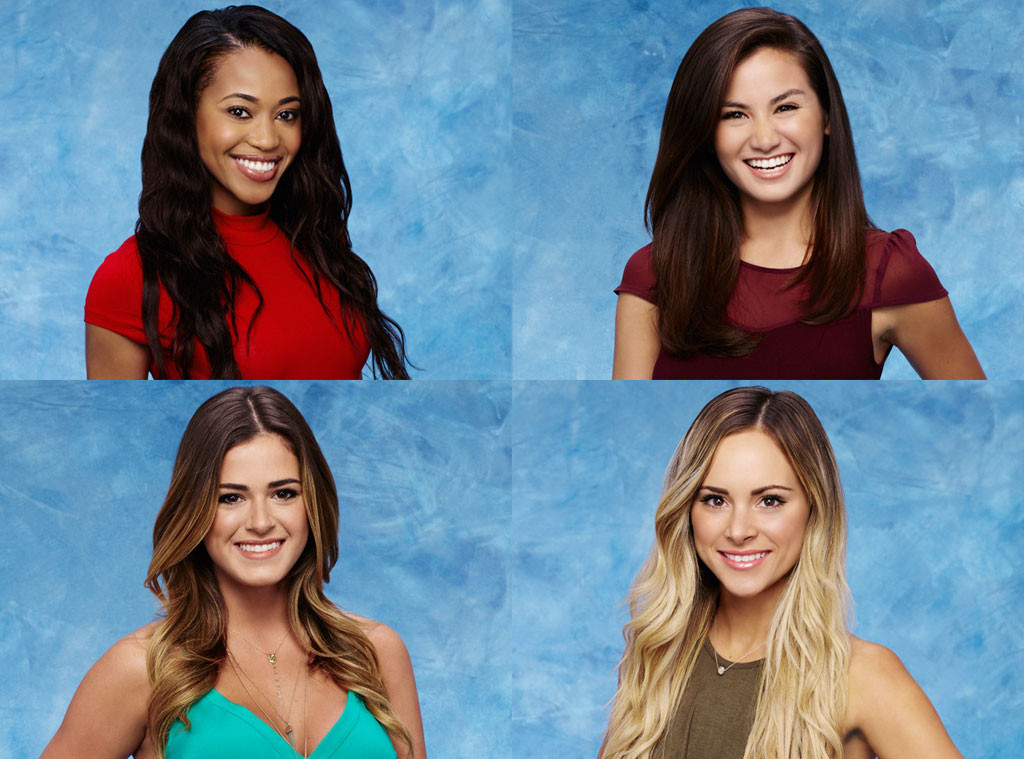 Caila, JoJo, Jubilee, Amanda, The Bachelor